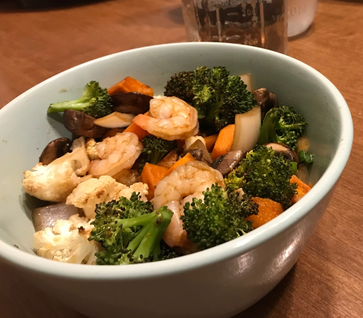 build-your-own veggie bowl